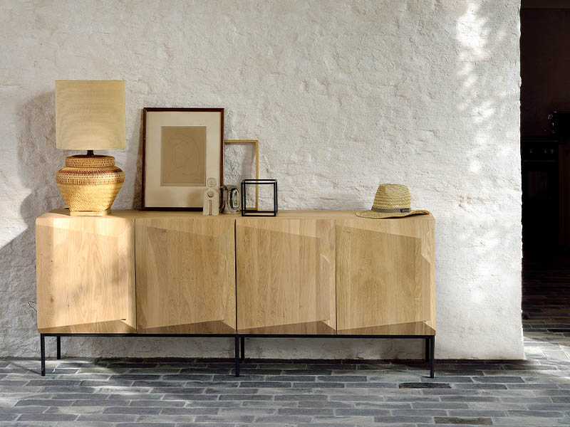 Oak stairs sideboard, from $2,995, Soul & Tables