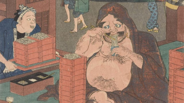 ACMtalks: Famous foods and restaurants in Japanese prints